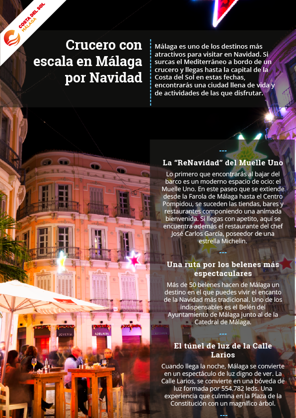 Crucero Navidad Málaga
