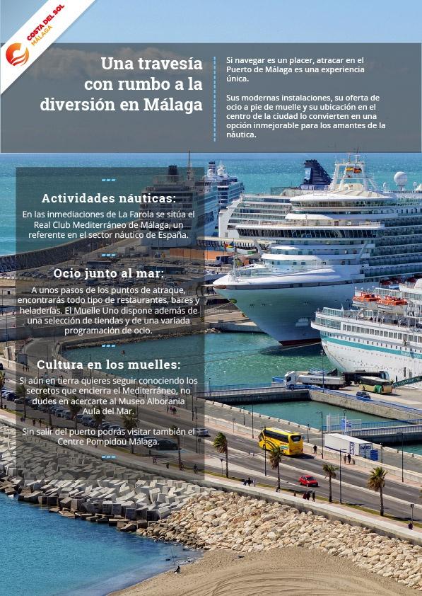 Puerto deportivo de Málaga