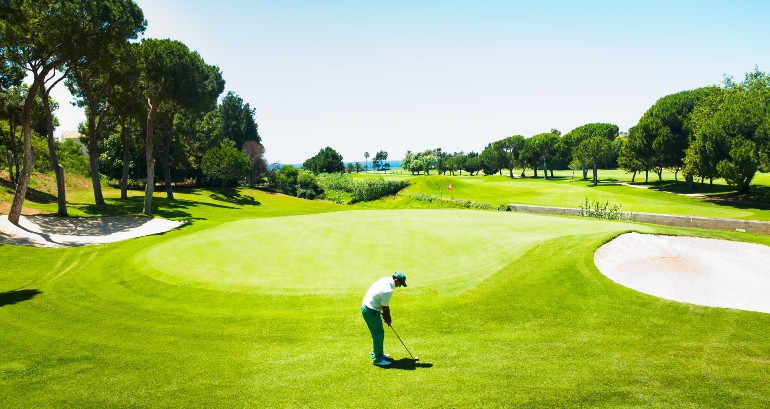 Rio Real Golf & Hotel, golf on the seafront
