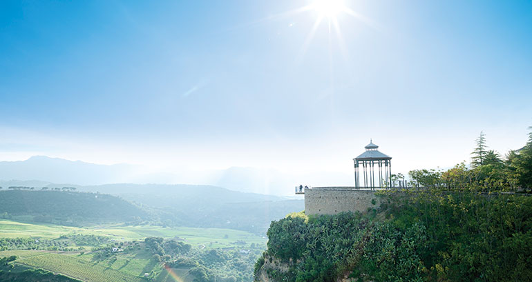 The best pictures from the most outstanding viewpoints of Malaga