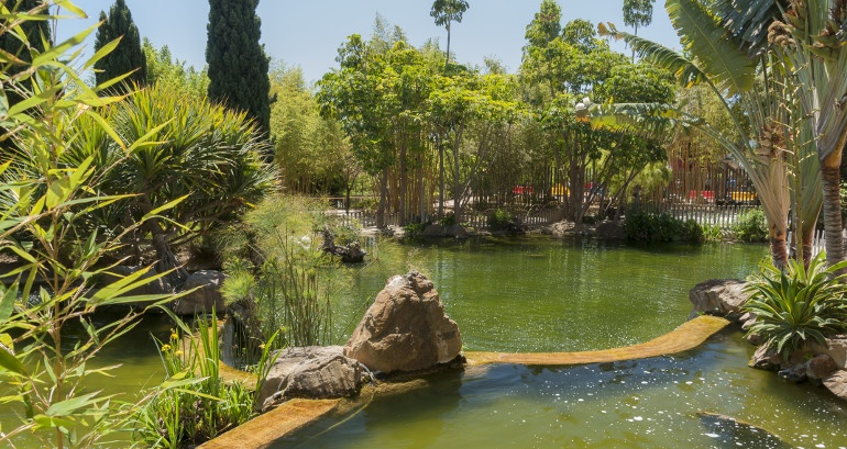 Ein Familientag in den besten Parkanlagen der Costa del Sol