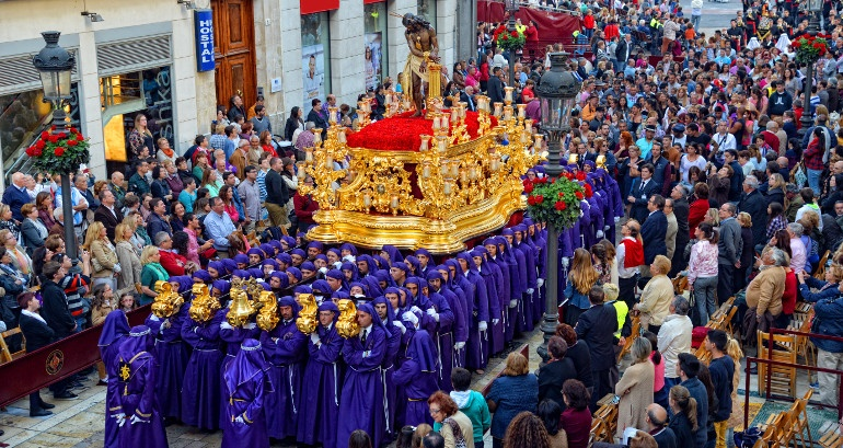 Culture, faith and art: the Holy Week in Malaga