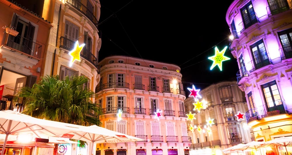 Christmas in Malaga aboard a cruise ship