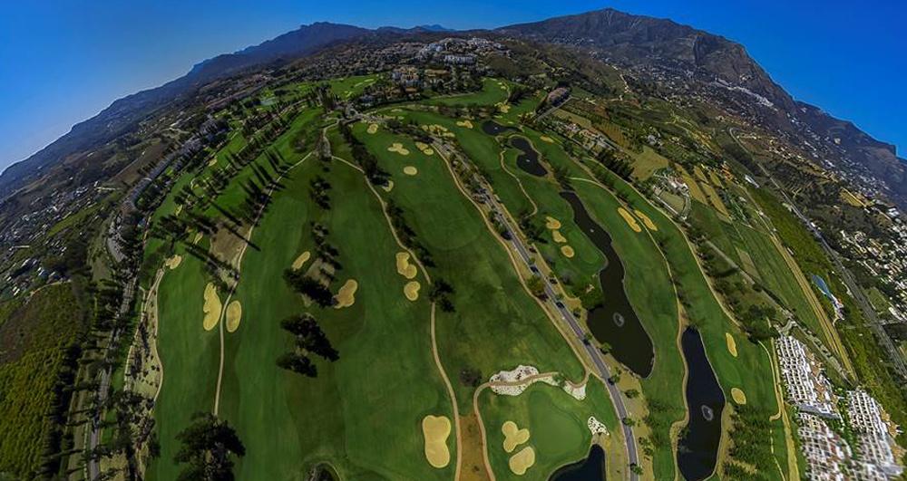 Reise zu den Golfplätzen der Costa del Sol in 360º