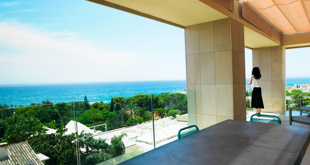 Dise o cinco estrellas en los hoteles de la costa del sol for Hotel diseno malaga