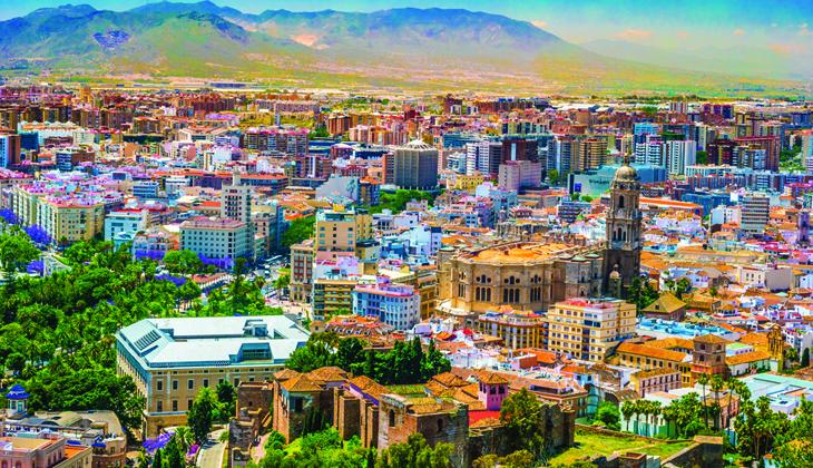 Málaga an einem Tag