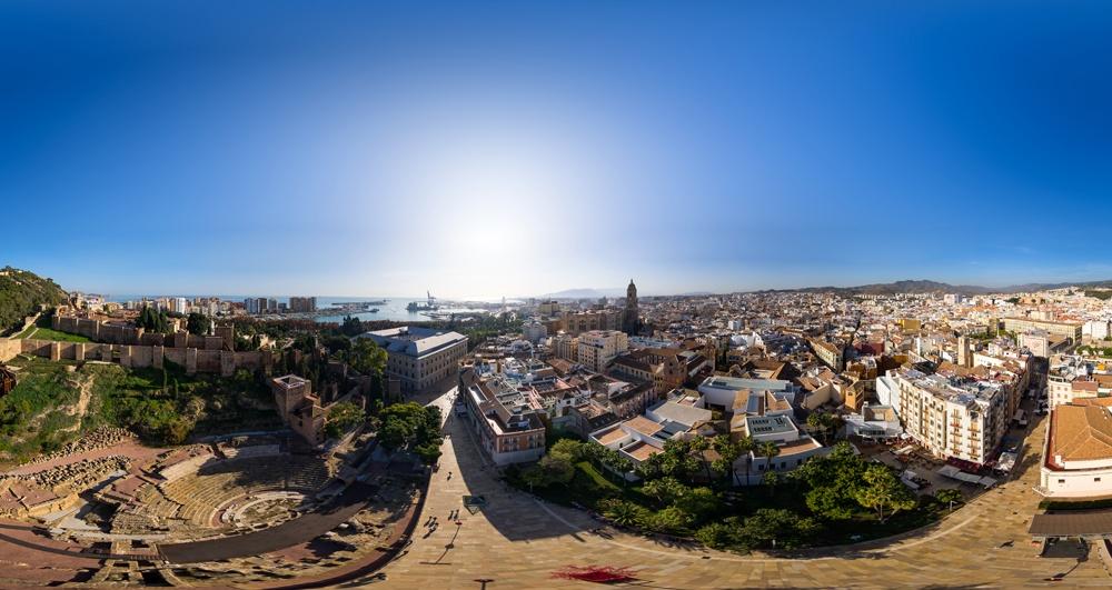 Un voyage virtuel de 360º à la Costa del Sol