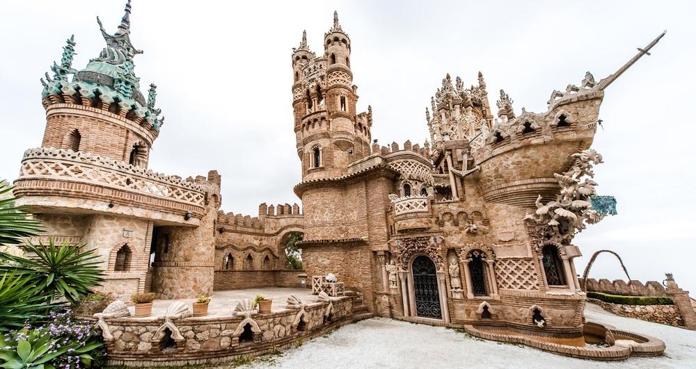 Un château dédié à Christophe Colomb (vidéo) By Jack35 Rincones-malaga