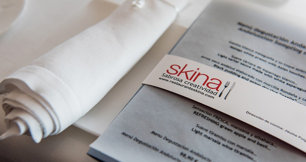 Restaurant Skina, forefront Mediterranean cuisine in the heart of Marbella