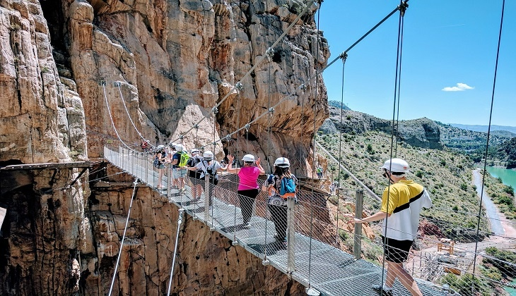 The Caminito del Rey turns 3 years old
