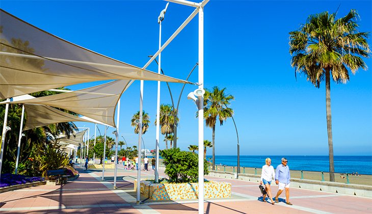 Five places to run outside in the fresh air in Málaga