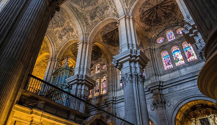 Cute churches in Málaga region