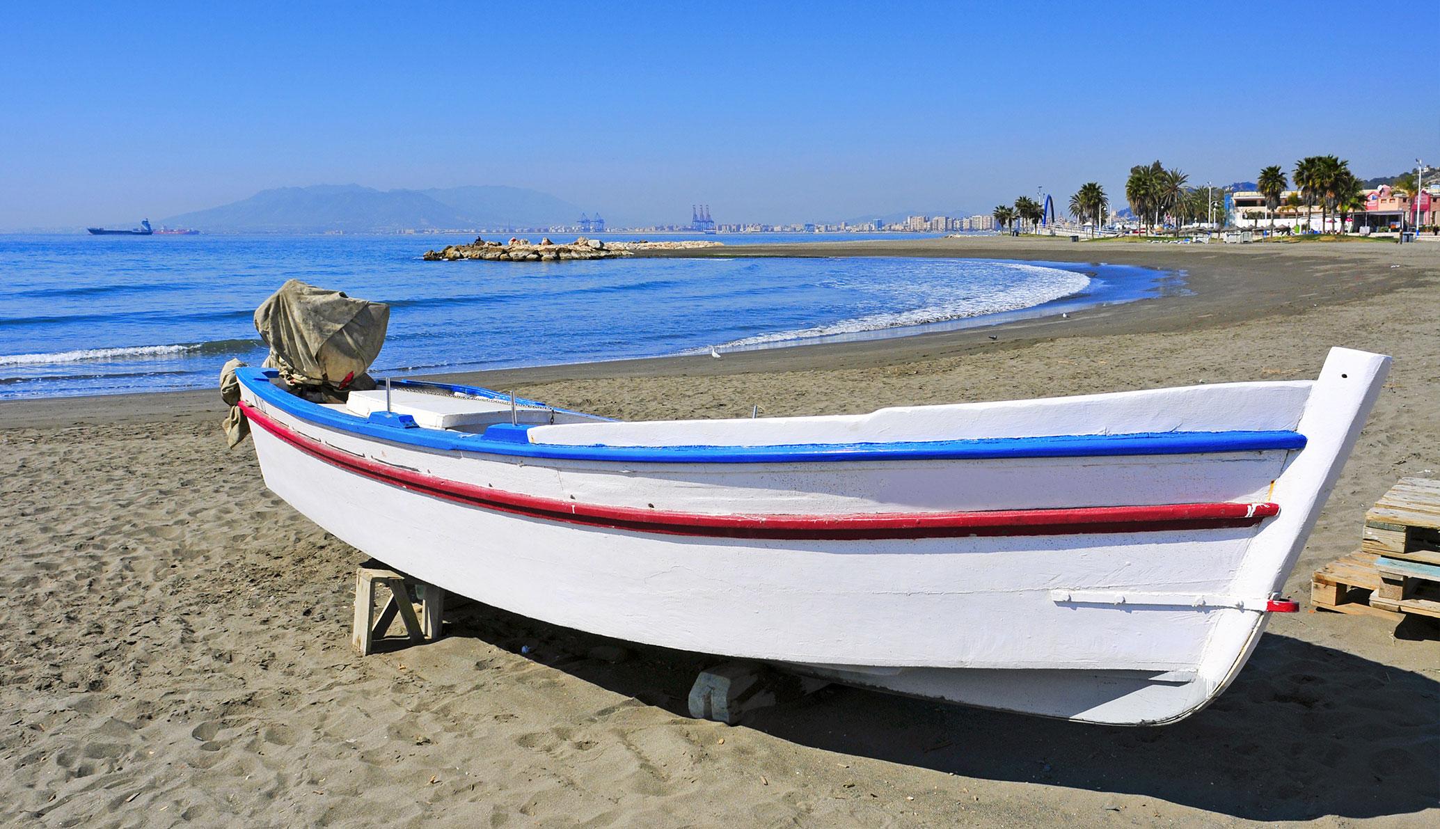 Les meilleures plages de Malaga capitale