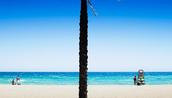 Diesen Sommer wehen 26 Blaue Flaggen an den Stränden der Costa del Sol