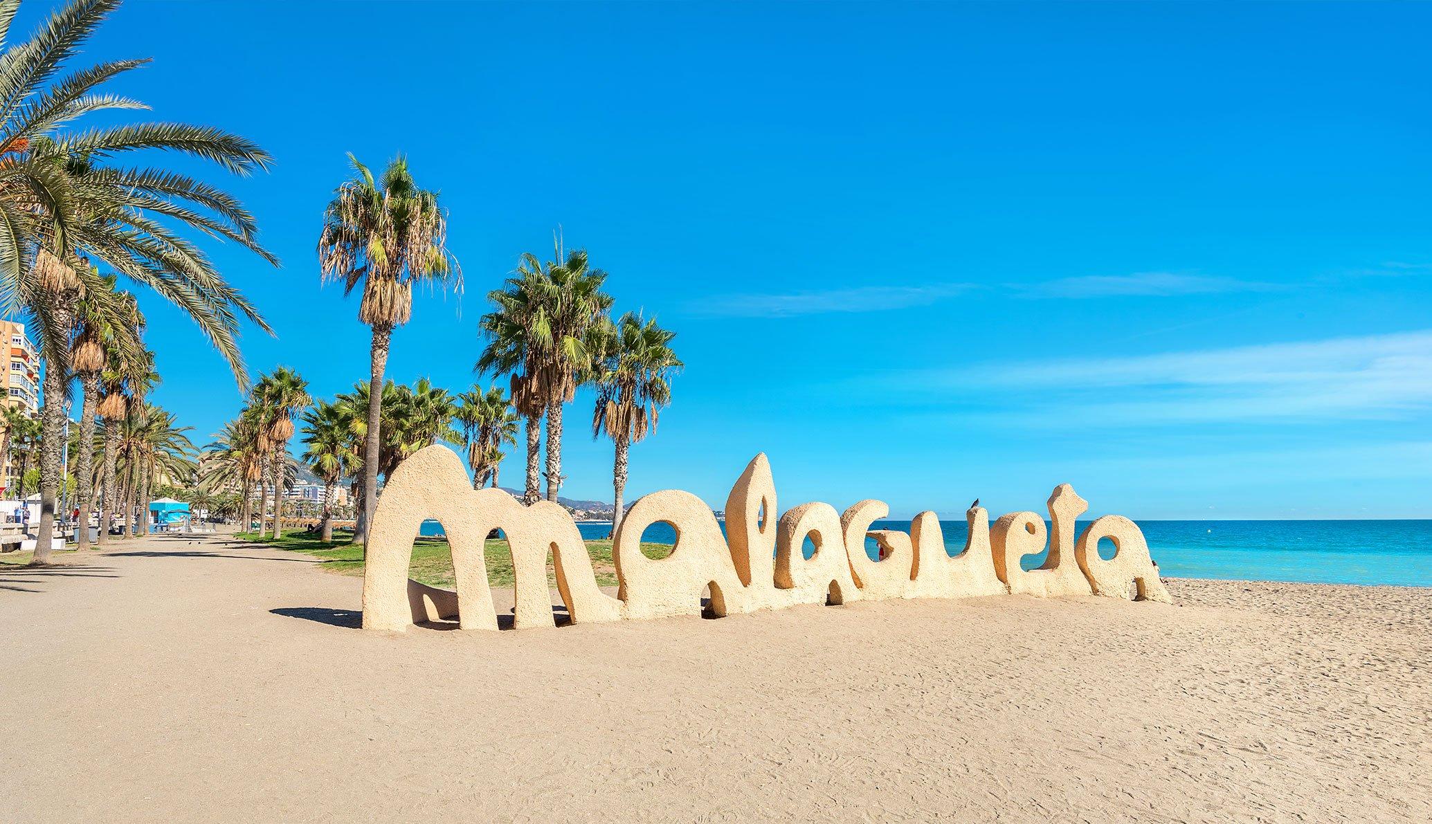 Die besten Strände in der Stadt Málaga