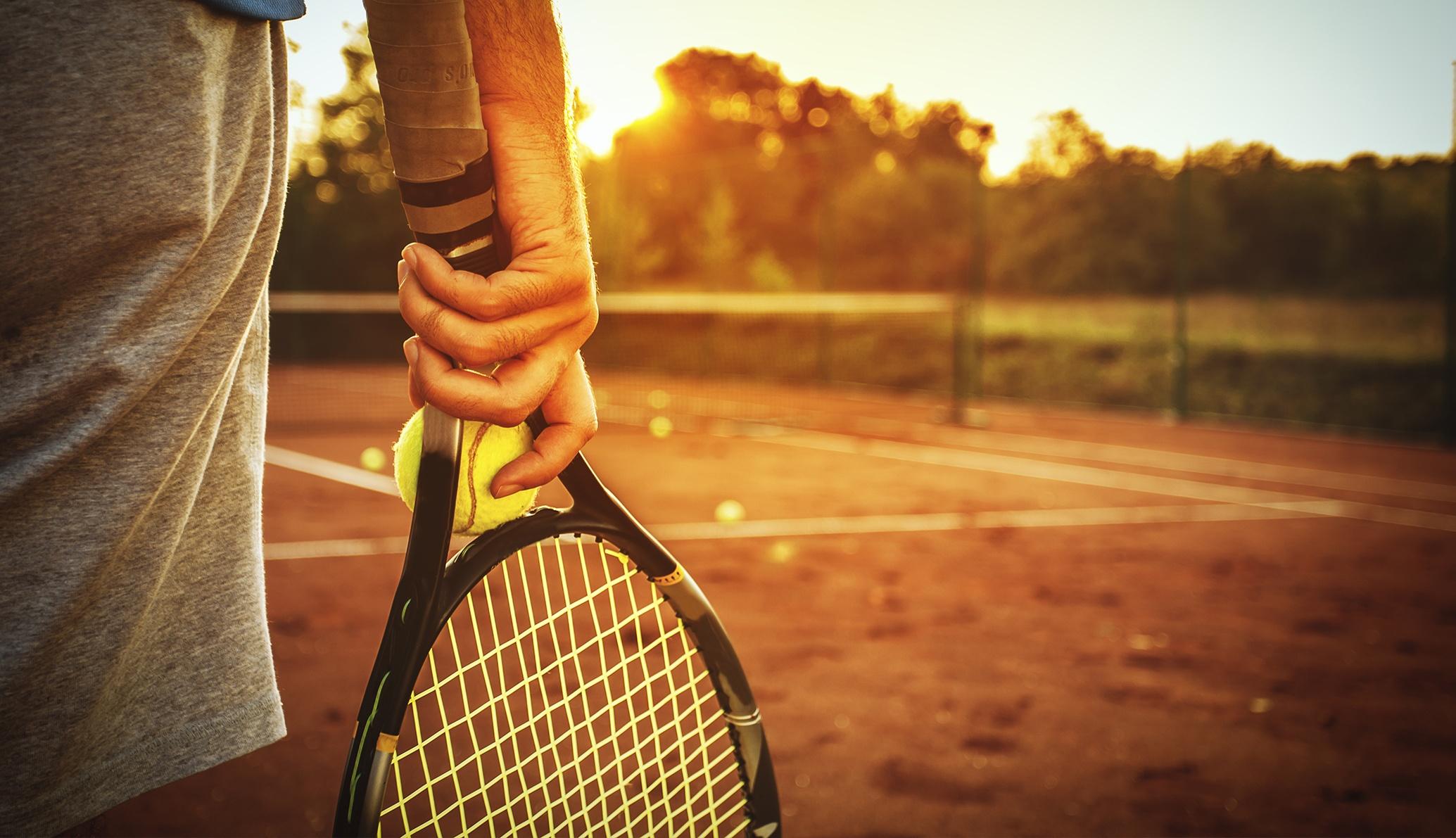 Fünf Tennisanlagen an der Costa del Sol