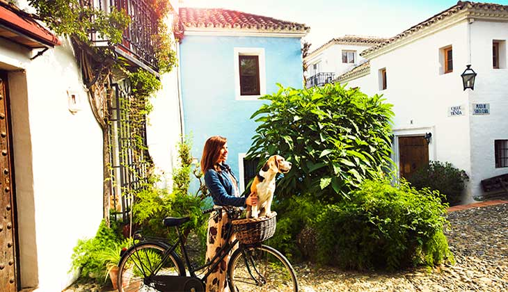 A different kind of getaway with your pet by your side on the Costa del Sol