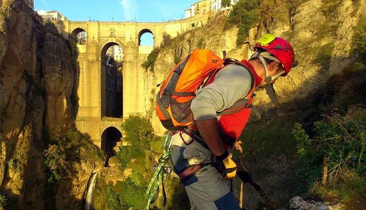 Klettersteige in Málaga: Abenteuer gleich nebenan